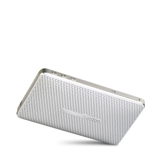 Esquire Mini - White - Wireless, portable speaker and conferencing system - Detailshot 6