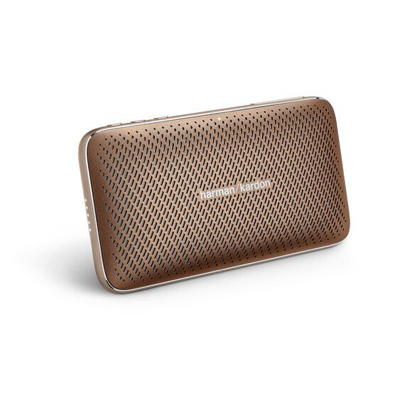 Harman Kardon Esquire Mini 2 - Brown - Ultra-slim and portable premium Bluetooth Speaker - Hero