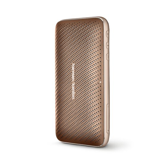 Harman Kardon Esquire Mini 2 - Brown - Ultra-slim and portable premium Bluetooth Speaker - Detailshot 2