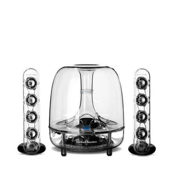 SoundSticks Wireless  Three-piece wireless speaker system with