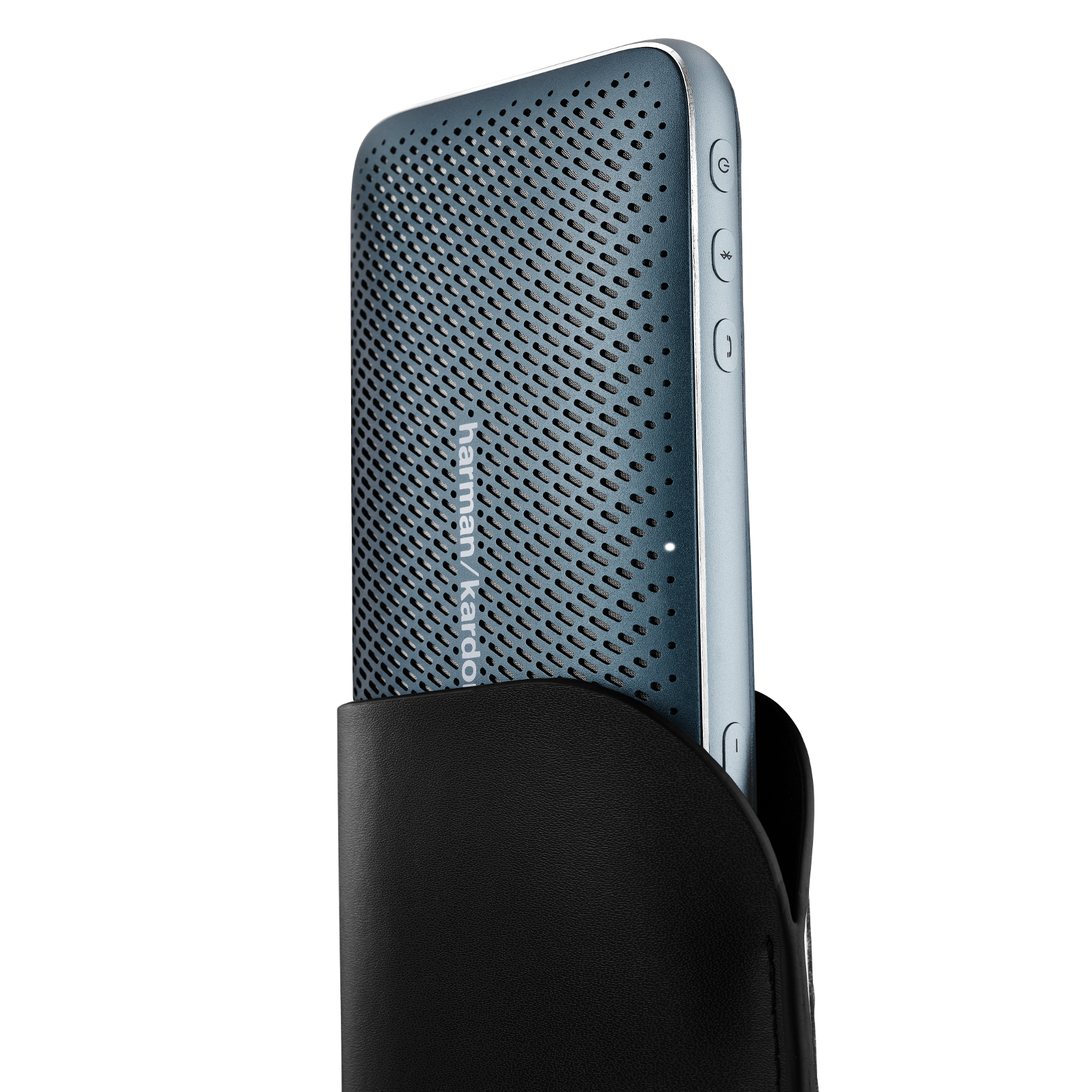 Harman Kardon Esquire Mini 2 - Blue - Ultra-slim and portable premium Bluetooth Speaker - Detailshot 1