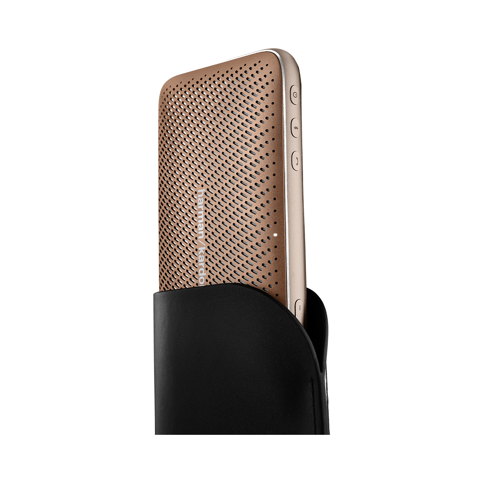Harman Kardon Esquire Mini 2 - Brown - Ultra-slim and portable premium Bluetooth Speaker - Detailshot 1