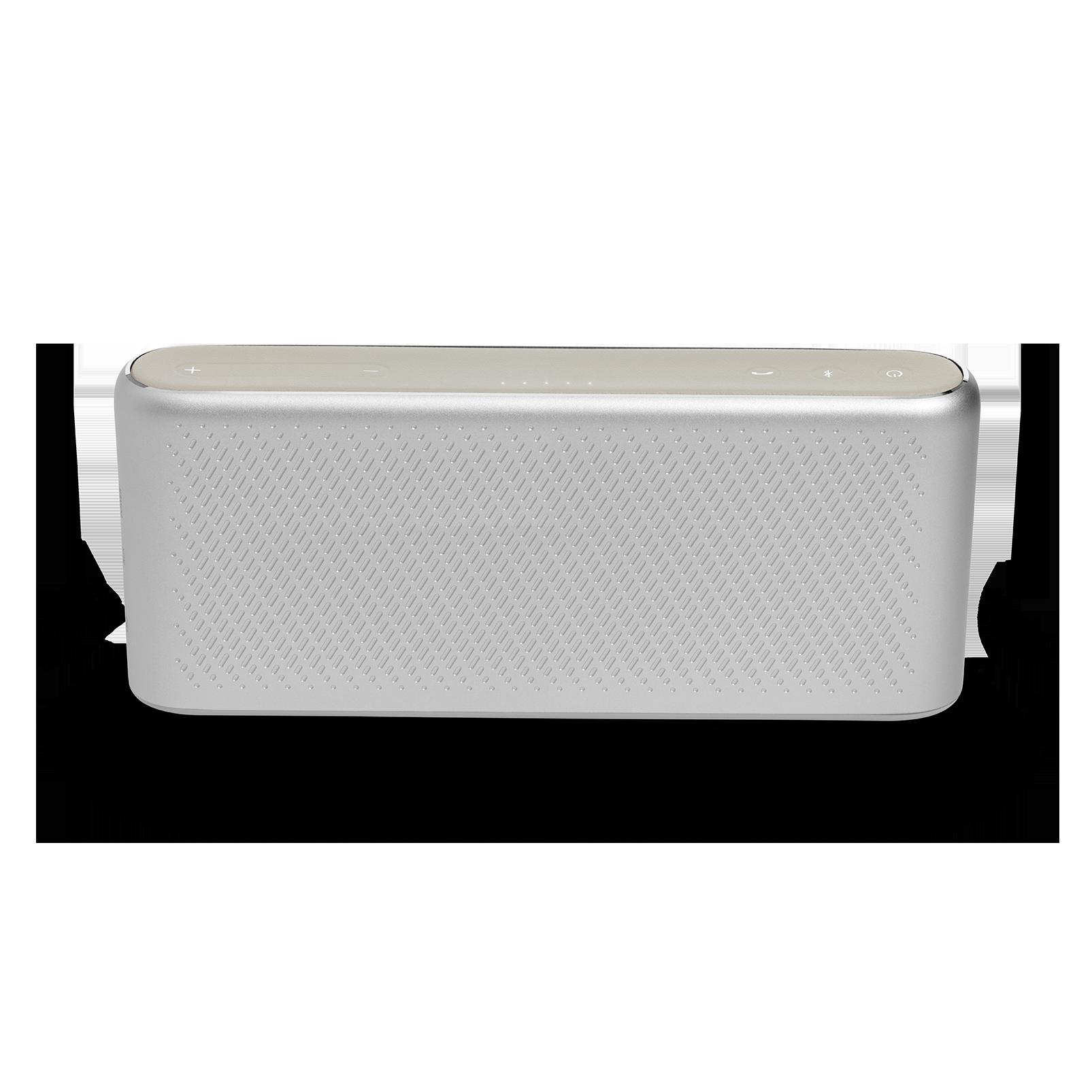 Traveler - Silver - All-in-one travel speaker - Back