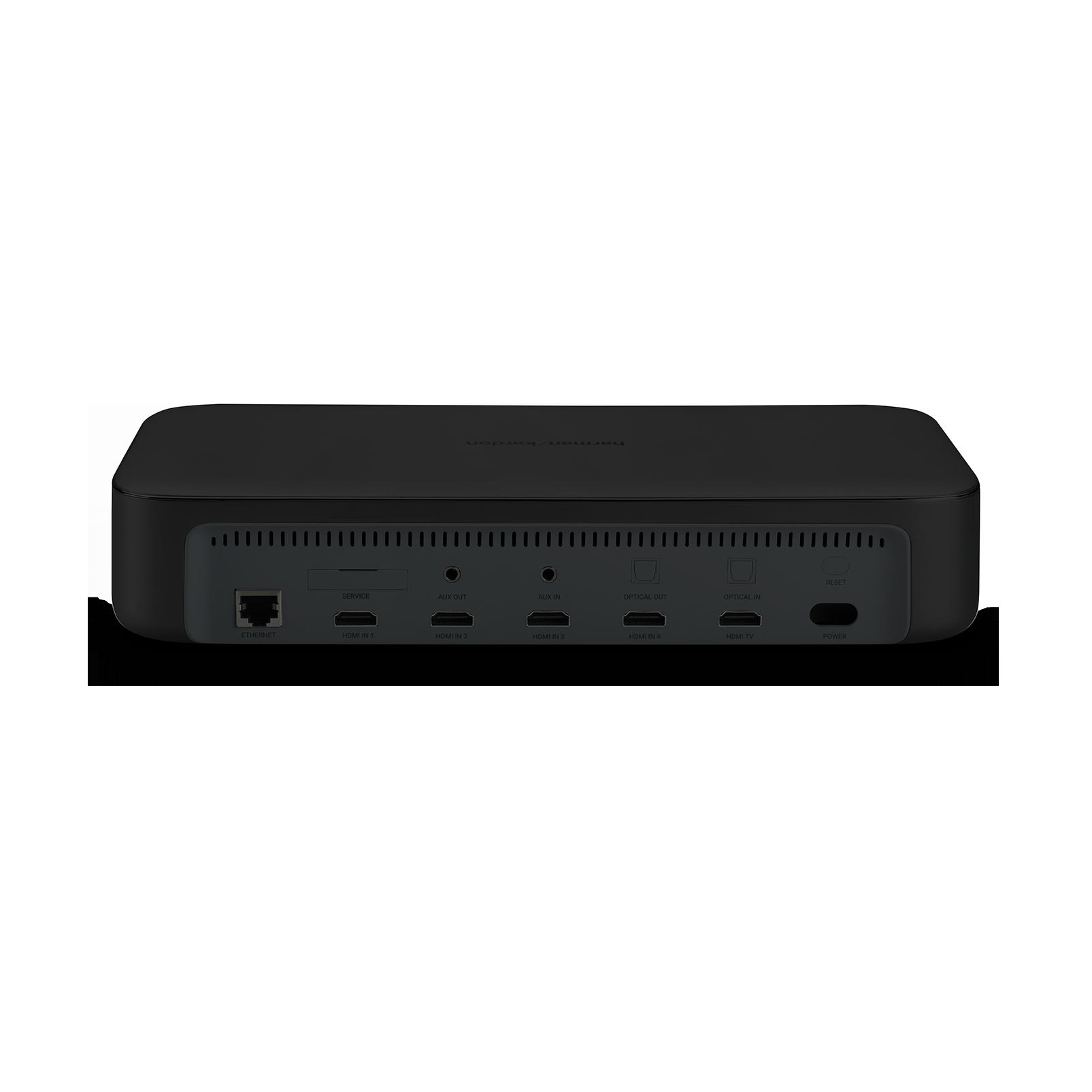 Harman Kardon Citation Adapt - Black - The compact wireless digital AV  adapter - Back